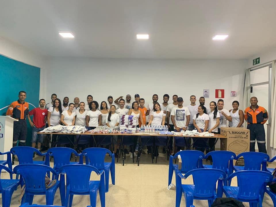 Recebemos ontem ( 10/04/2019) alunos do curso de Educação Física.