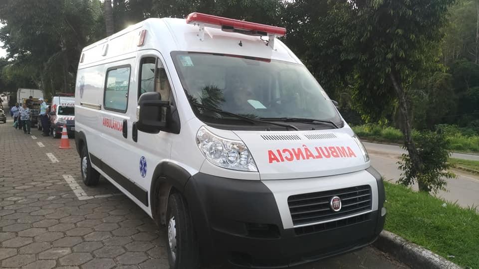 Recebemos hoje uma ambulância ZERO.